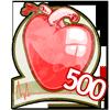 500 hearts!